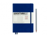 LEUCHTTURM1917 agenda 2020 Medium (A5) Weekly Planner & Notebook 18 maanden