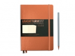 LEUCHTTURM1917 agenda 2020 Medium (A5) Weekly Planner & Notebook METALLIC