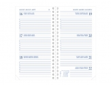 Diary Select Ringplastiek agenda 2020 Guider wit papier