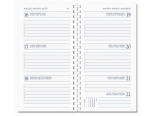Diary Select Ringplastiek agenda 2018 Guider wit papier