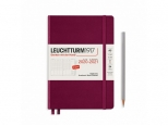 LEUCHTTURM1917 Academic agenda 2021 Medium (A5) Week planner 18 maanden