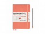 LEUCHTTURM1917 agenda 2021 Medium (A5) Weekly Planner & Notebook 18 maanden