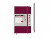 LEUCHTTURM1917 agenda 2021 Pocket (A6) Weekly Planner Softcover