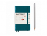 LEUCHTTURM1917 agenda 2021 Pocket (A6) Weekly Planner & Notebook